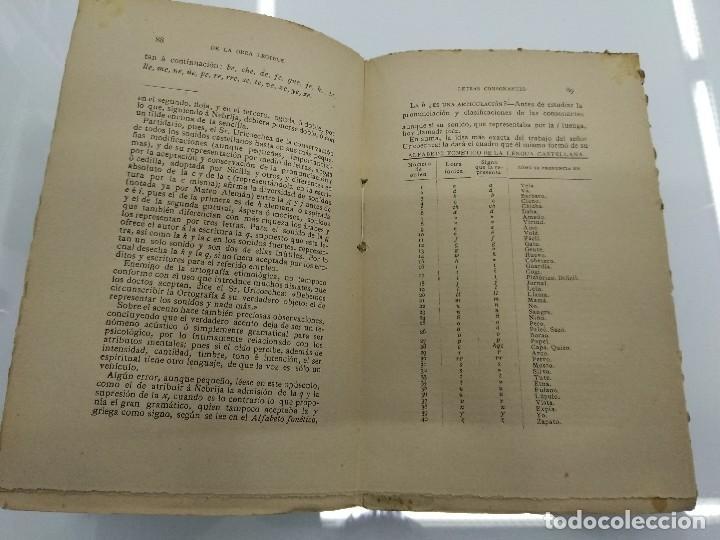 Libros antiguos: ARTE DE LA LECTURA RUFINO BLANCO 1909 REVISTA DE ARCHIVOS MADRID - Foto 4 - 124913879