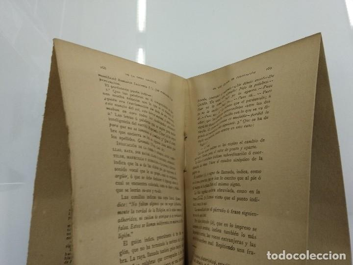 Libros antiguos: ARTE DE LA LECTURA RUFINO BLANCO 1909 REVISTA DE ARCHIVOS MADRID - Foto 5 - 124913879