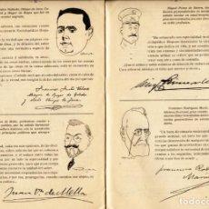 Libros antiguos: RETRATOS POR ALONSO, BAGARÍA, K-HITO, LÓPEZ RUBIO... PROMOCIONAL DICCIONARIO MONTANER Y SIMÓN. 1922. Lote 125012691
