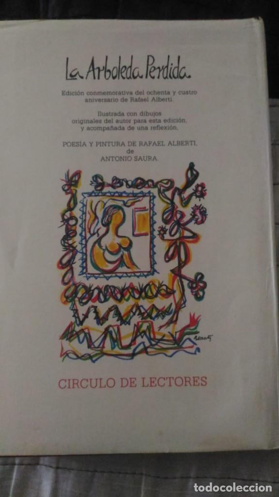 Libros antiguos: Rafael Alberti la arboleda perdida libro El Círculo de Lectores está dibujado firmado y dedicado - Foto 3 - 125016947