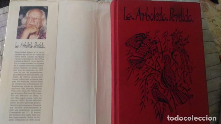 Libros antiguos: Rafael Alberti la arboleda perdida libro El Círculo de Lectores está dibujado firmado y dedicado - Foto 4 - 125016947