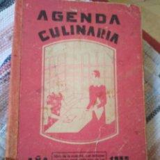 Libros antiguos: AGENDA CULINARIA. AÑO 1932. POR LA DUQUESA LAURA.. Lote 125074715