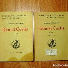 Libros antiguos: FOGAZZARO, ANTONIO. DANIEL CORTIS : NOVELA. TOMOS I Y II (UNIVERSAL ; 278- 280, 299 Y 300). Lote 125121935