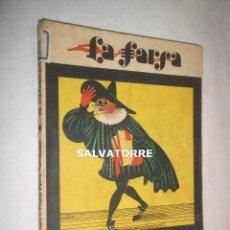 Libros antiguos: PEDRO MUÑOZ SECA.PEDRO PEREZ FERNANDEZ.EL CUATRIGEMINO.LA FARSA.1930. Lote 125242275