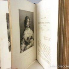 Libros antiguos: BOSSUET : ORAISONS FUNÈBRES... (ORACIONES FÚNEBRES. 1860. CON 12 GRABADOS AL ACERO. Lote 125245687