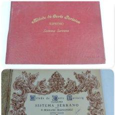 Libros antiguos: LIBRO MÉTODO DE CORTE PARISIEN SUPREMO, SISTEMA SERRANO SEPTIMA EDICIÓN DE 1948. MIDE 32,5 X 24 CM. . Lote 125262867