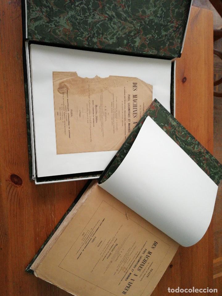 Libros antiguos: Des machines a vapeur. C. E. Jullien. 1859. Texto y Atlas. - Foto 2 - 125275439