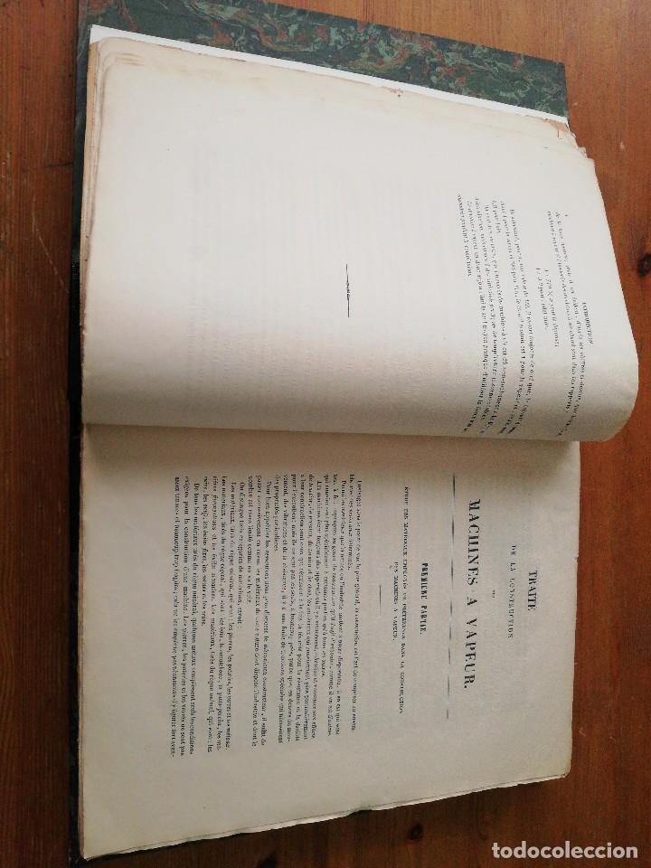 Libros antiguos: Des machines a vapeur. C. E. Jullien. 1859. Texto y Atlas. - Foto 10 - 125275439