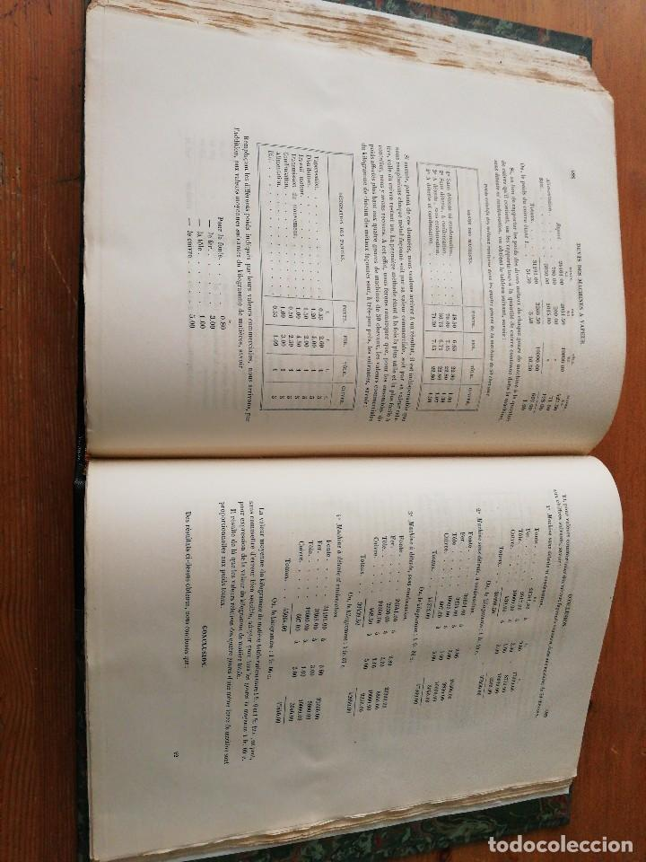 Libros antiguos: Des machines a vapeur. C. E. Jullien. 1859. Texto y Atlas. - Foto 14 - 125275439