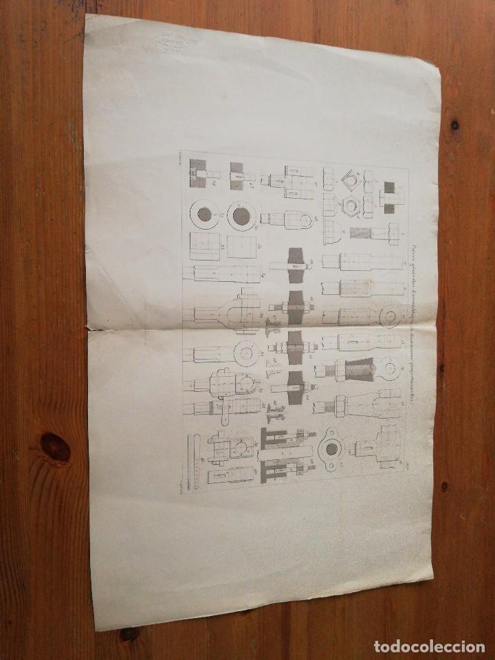 Libros antiguos: Des machines a vapeur. C. E. Jullien. 1859. Texto y Atlas. - Foto 25 - 125275439