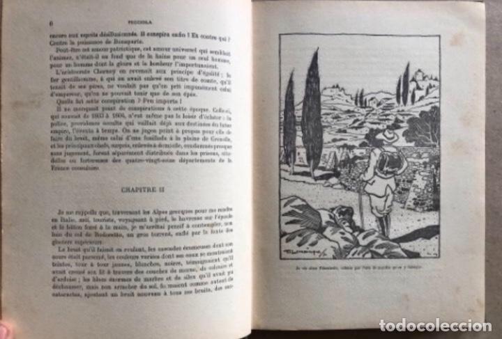 Libros antiguos: PICCIOLA, XAVIER SAINTINE (ED. BOIVIN & C, 1931). ILLUSTRATIONS DE M. LEMAINQUE. 186 PÁGINAS. ILU - Foto 3 - 125334895