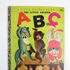 Libros antiguos: CU-120. THE LITTLE GOLDEN ABC .ILUSTRACIONES POR CORNELIUS DE WITT. ED GOLDEN PRESS. AÑO1951. Lote 125389751