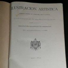 Libros antiguos: OBRA MAGNA LA ILUSTRACION ARTÍSTICA TOMO DEL AÑO 1885 COMPLETO DE ENERO A DICIEMBRE RARA. Lote 125395243