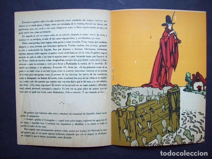 Libros antiguos: El Gaitero de Hamelín. Serie Rosa Nº 4 , Editorial Rivadeneyra . Años 20 - Foto 4 - 125427463