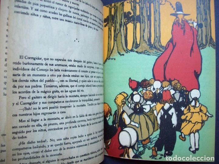 EL GAITERO DE HAMELÍN. SERIE ROSA Nº 4 , EDITORIAL RIVADENEYRA . AÑOS 20 (Libros Antiguos, Raros y Curiosos - Literatura Infantil y Juvenil - Otros)