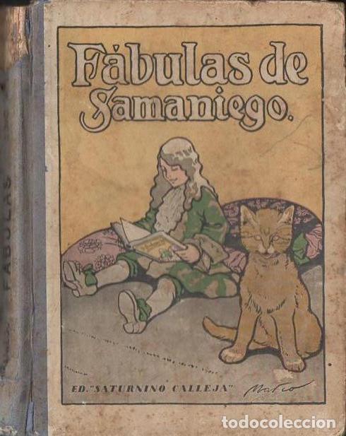 FÁBULAS DE SAMANIEGO (CALLEJA, S.F.) ILUSTRACIONES DE MARCO (Libros Antiguos, Raros y Curiosos - Literatura Infantil y Juvenil - Otros)