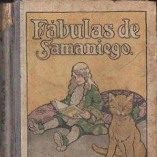 Libros antiguos: FÁBULAS DE SAMANIEGO (CALLEJA, S.F.) ILUSTRACIONES DE MARCO. Lote 125436315