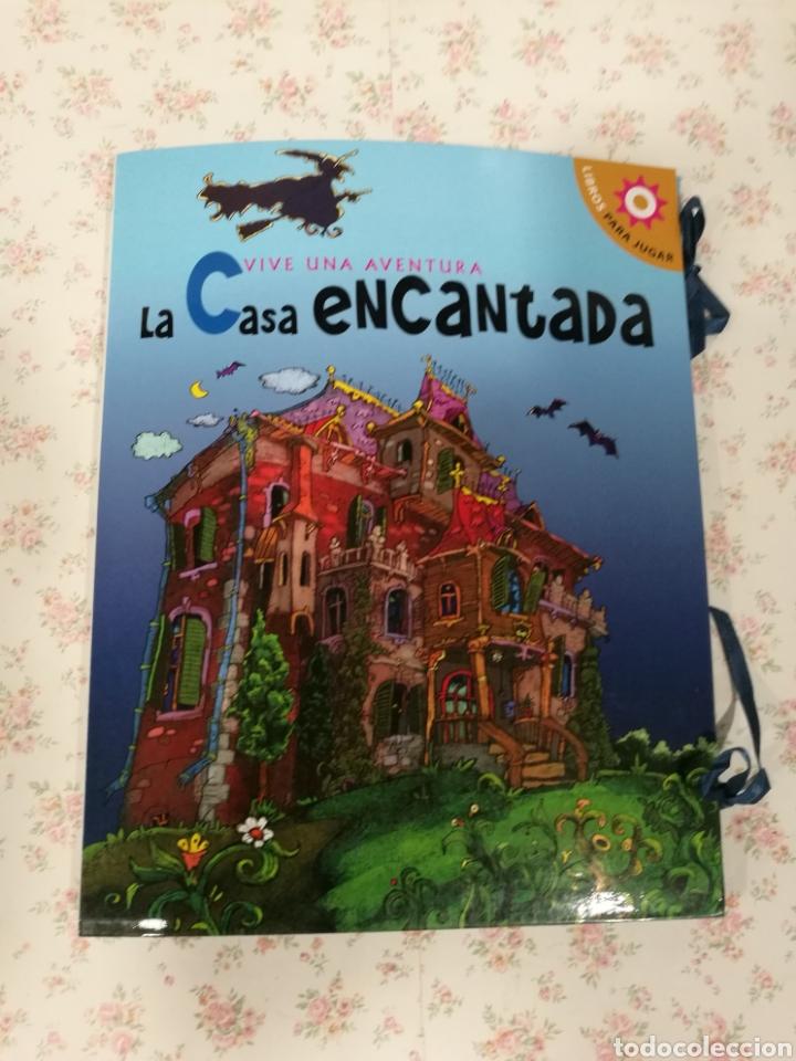 Libros antiguos: Vive una aventura. La casa encantada. Desplegable. Pop-up 3D. Impecable.Ver fotos. - Foto 2 - 150832796