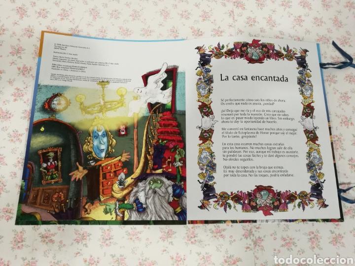 Libros antiguos: Vive una aventura. La casa encantada. Desplegable. Pop-up 3D. Impecable.Ver fotos. - Foto 3 - 150832796
