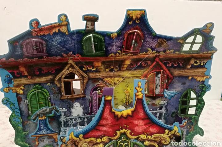Libros antiguos: Vive una aventura. La casa encantada. Desplegable. Pop-up 3D. Impecable.Ver fotos. - Foto 4 - 150832796