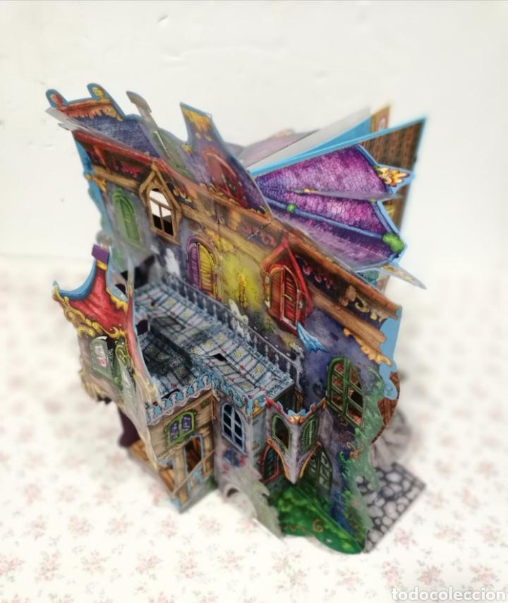 Libros antiguos: Vive una aventura. La casa encantada. Desplegable. Pop-up 3D. Impecable.Ver fotos. - Foto 5 - 150832796