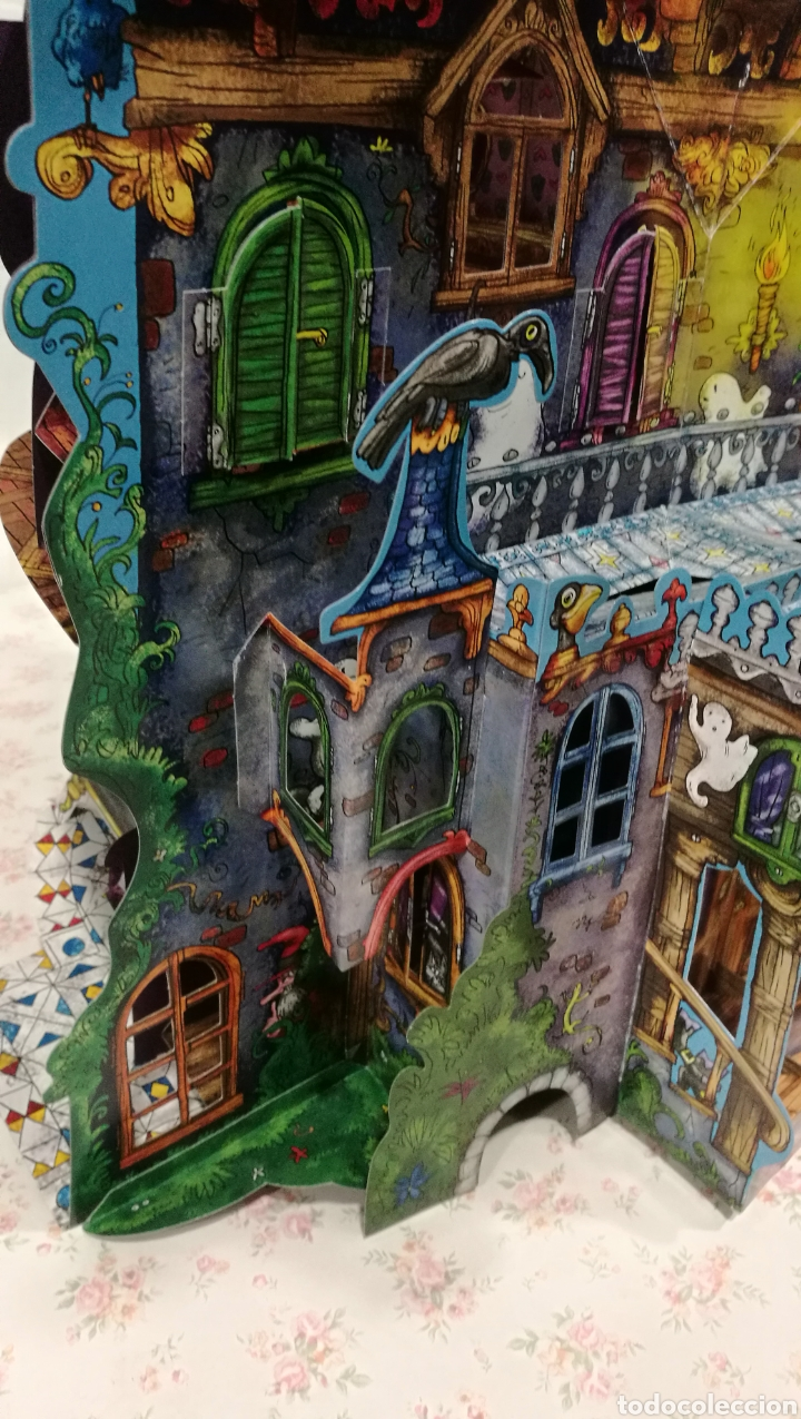 Libros antiguos: Vive una aventura. La casa encantada. Desplegable. Pop-up 3D. Impecable.Ver fotos. - Foto 7 - 150832796