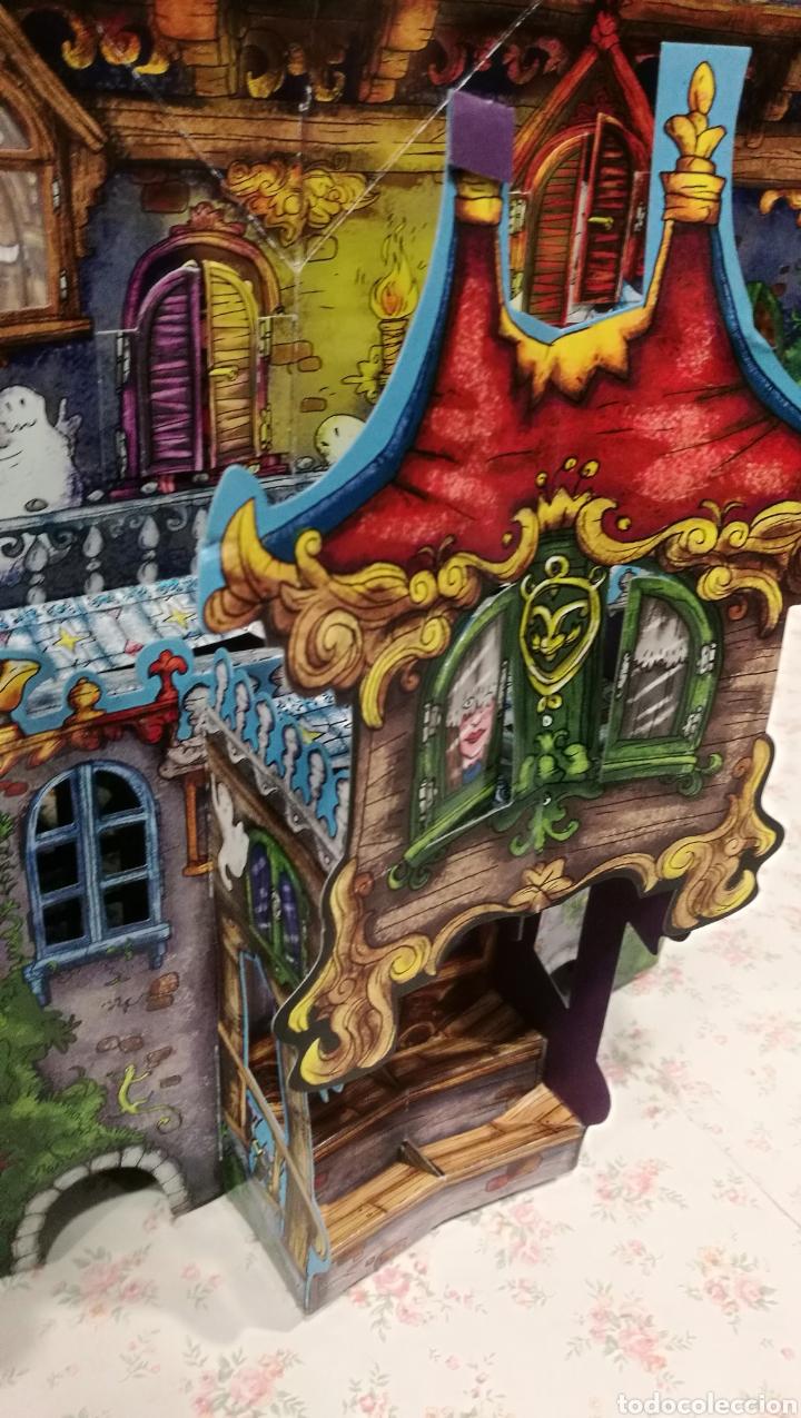 Libros antiguos: Vive una aventura. La casa encantada. Desplegable. Pop-up 3D. Impecable.Ver fotos. - Foto 8 - 150832796