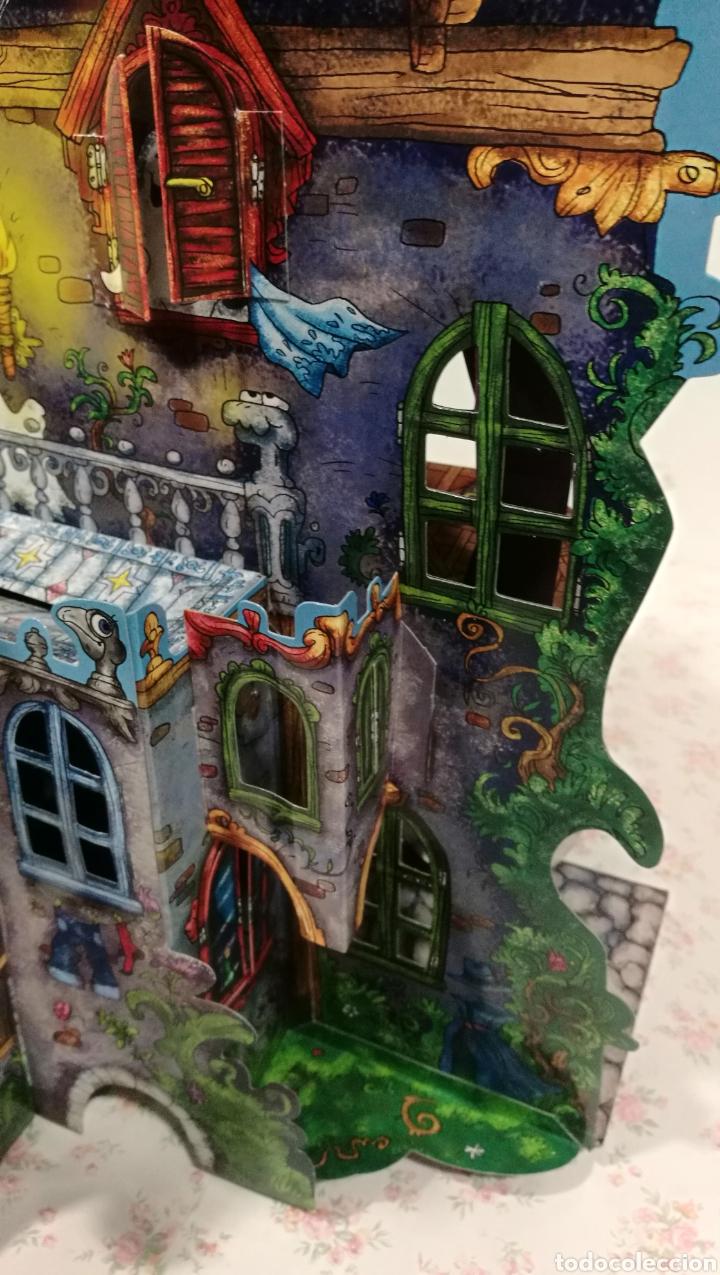 Libros antiguos: Vive una aventura. La casa encantada. Desplegable. Pop-up 3D. Impecable.Ver fotos. - Foto 10 - 150832796