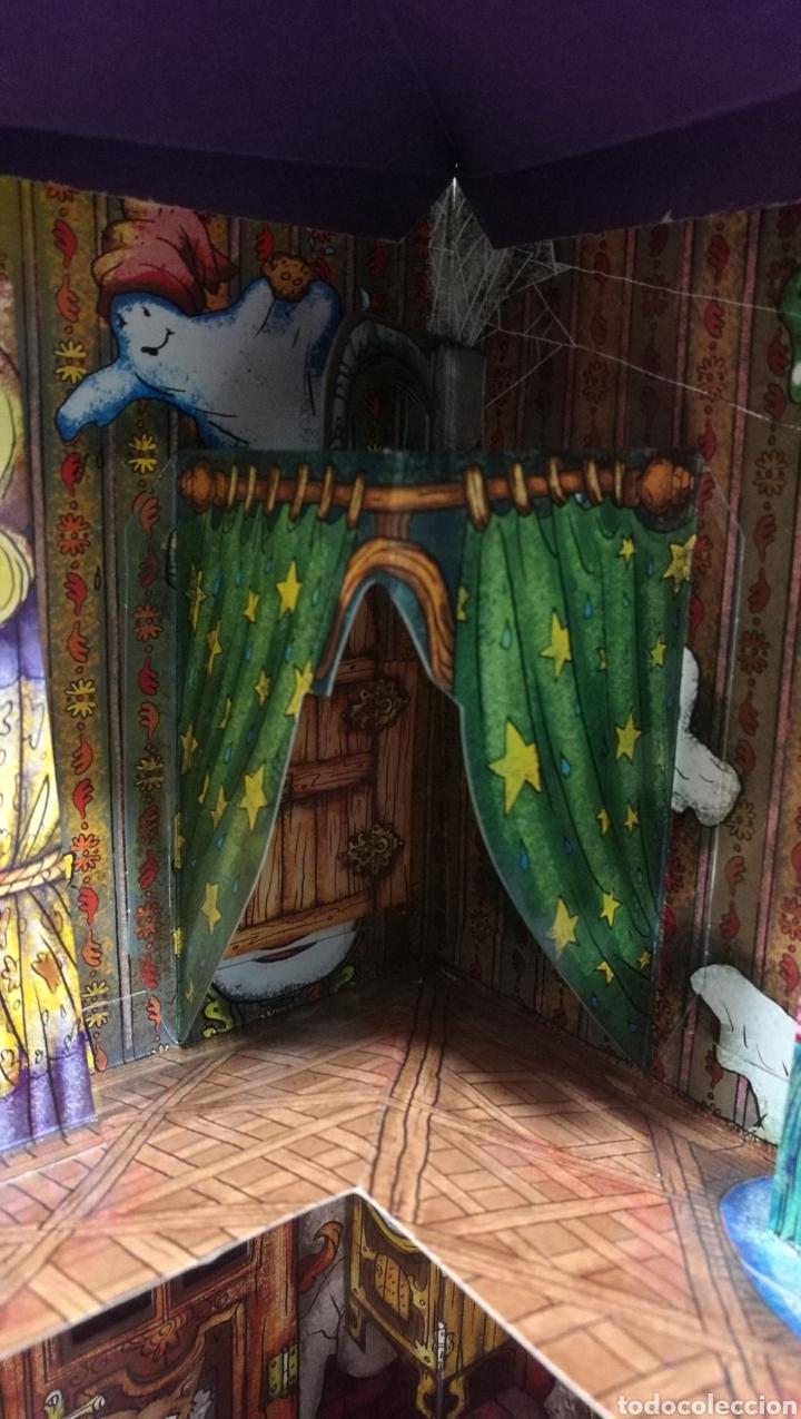 Libros antiguos: Vive una aventura. La casa encantada. Desplegable. Pop-up 3D. Impecable.Ver fotos. - Foto 15 - 150832796