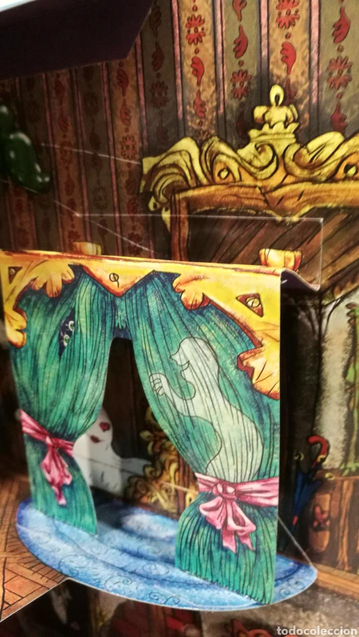 Libros antiguos: Vive una aventura. La casa encantada. Desplegable. Pop-up 3D. Impecable.Ver fotos. - Foto 16 - 150832796