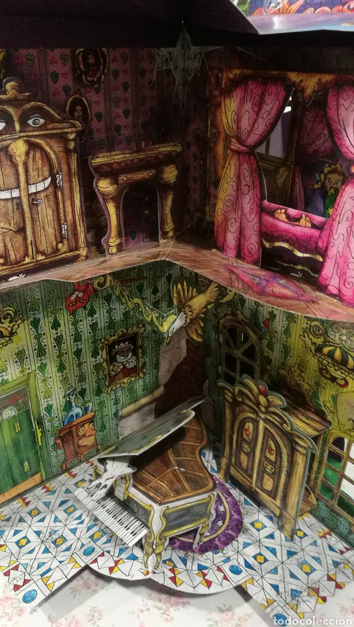 Libros antiguos: Vive una aventura. La casa encantada. Desplegable. Pop-up 3D. Impecable.Ver fotos. - Foto 17 - 150832796