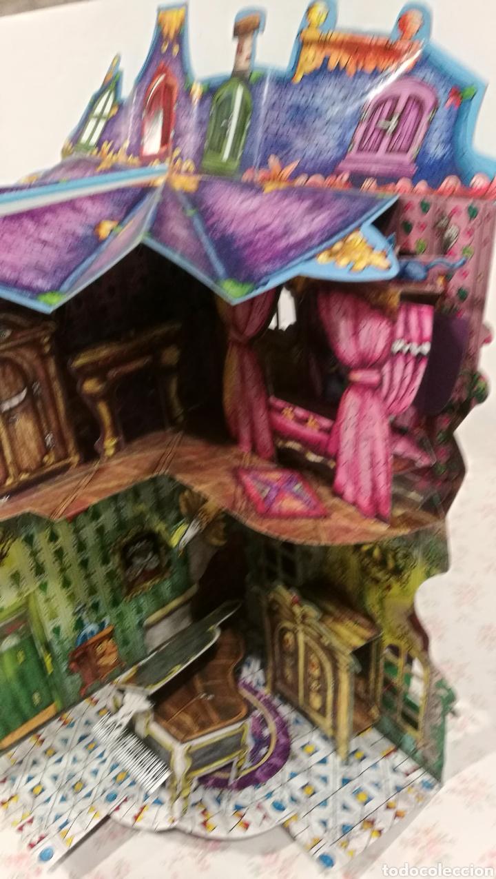 Libros antiguos: Vive una aventura. La casa encantada. Desplegable. Pop-up 3D. Impecable.Ver fotos. - Foto 18 - 150832796