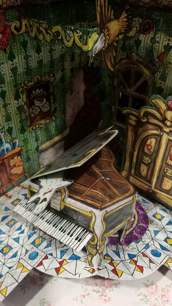 Libros antiguos: Vive una aventura. La casa encantada. Desplegable. Pop-up 3D. Impecable.Ver fotos. - Foto 19 - 150832796
