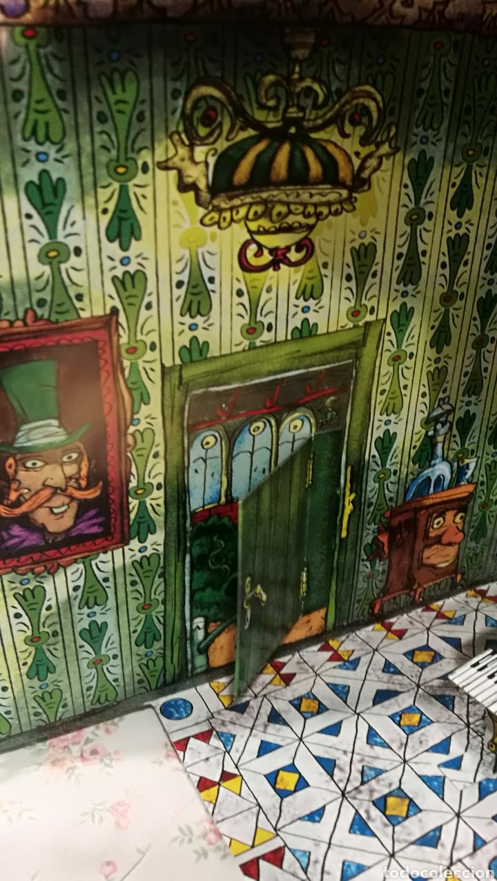 Libros antiguos: Vive una aventura. La casa encantada. Desplegable. Pop-up 3D. Impecable.Ver fotos. - Foto 20 - 150832796