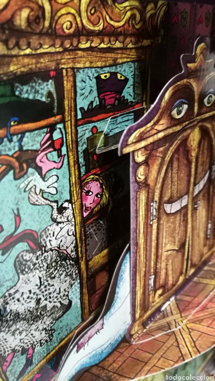Libros antiguos: Vive una aventura. La casa encantada. Desplegable. Pop-up 3D. Impecable.Ver fotos. - Foto 21 - 150832796