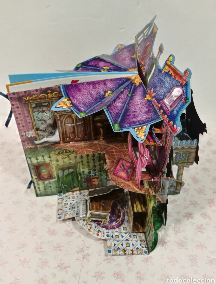 Libros antiguos: Vive una aventura. La casa encantada. Desplegable. Pop-up 3D. Impecable.Ver fotos. - Foto 22 - 150832796