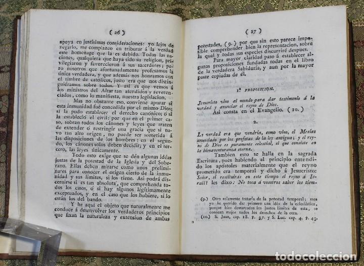 Libros antiguos: Reflexiones sobre el bando del 25 de junio • 1812 • México · Independencia · Mexicana - Foto 5 - 125493667
