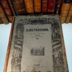 Libros antiguos: LA ILUSTRACIÓN - TOMO V VI - ÁNGEL FERNANDEZ DE LOS RÍOS - PERIÓDICO UNIVERSAL - AÑOS 1853 Y 54 - . Lote 125706451