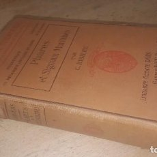 Libros antiguos: PHARES ET SIGNAUX MARITIMES, C. RIBIERE, PARIS 1908. Lote 125733791