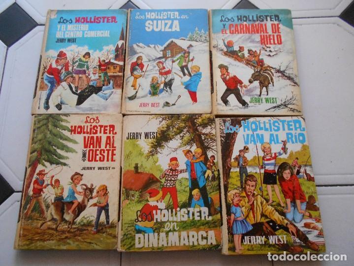 LOS HOLLISTER,6 LIBROS,AÑOS 1967-1972,TAPA DURA (Libros Antiguos, Raros y Curiosos - Literatura Infantil y Juvenil - Otros)