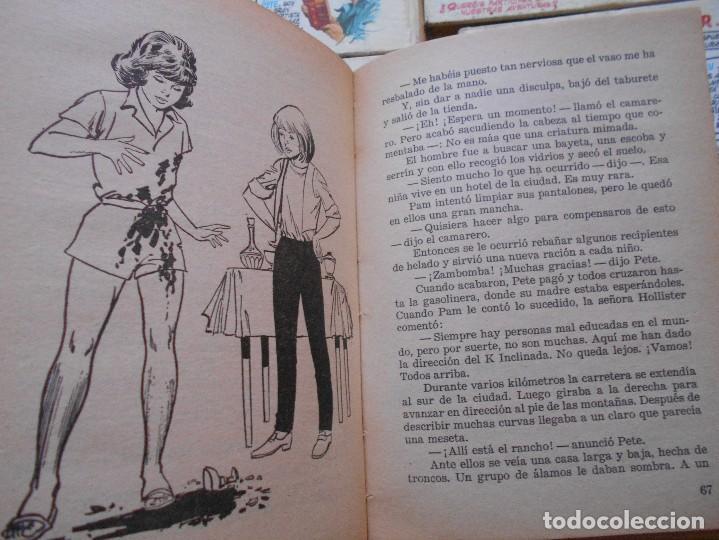Libros antiguos: los hollister,6 libros,años 1967-1972,tapa dura - Foto 2 - 125826959