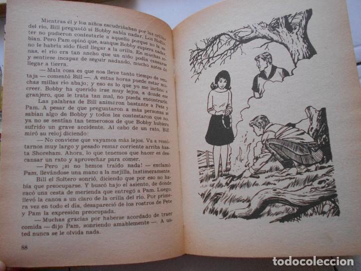 Libros antiguos: los hollister,6 libros,años 1967-1972,tapa dura - Foto 3 - 125826959