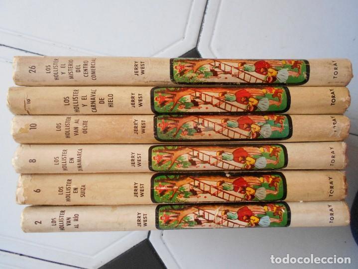 Libros antiguos: los hollister,6 libros,años 1967-1972,tapa dura - Foto 4 - 125826959
