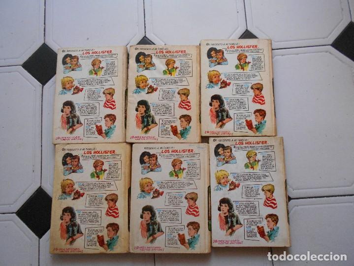 Libros antiguos: los hollister,6 libros,años 1967-1972,tapa dura - Foto 5 - 125826959