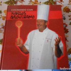 Libros antiguos: COCINANDO CON KARLOS ARGUIÑANO,TAPA DURA,248 PAGINAS,AÑO 2003. Lote 125831911