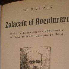 Libros antiguos: ZALACAIN EL AVENTURERO-ILUSTRADO POR PIO BARAJA,1920. Lote 125844943