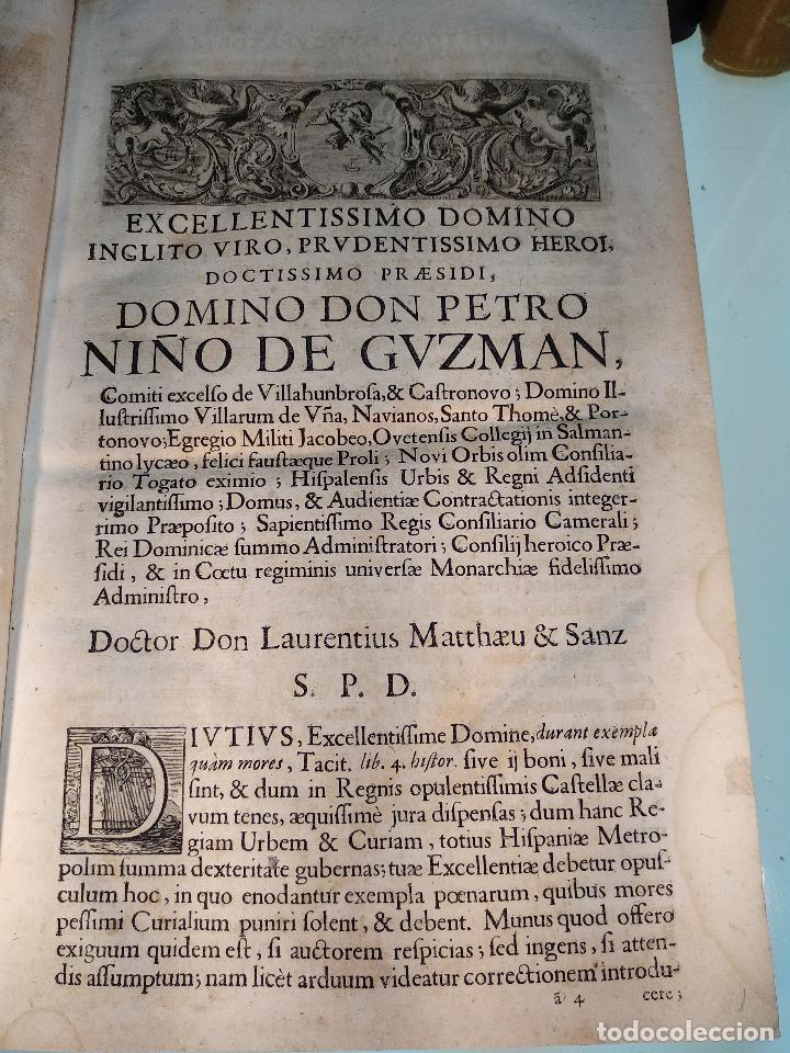 Libros antiguos: TRACTATUS DE RE CRIMINALI, SIVE CONTROVERSIARUM USUFREQUENTIU, IN CAUSIS CRIMINALIBUS.. - 1676 - - Foto 3 - 125881947