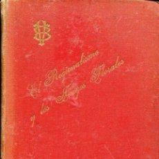 Libros antiguos: EL REGIONALISMO Y LOS JUEGOS FLORALES-1897-VICTOR BALAGUER-RARO. Lote 125894423