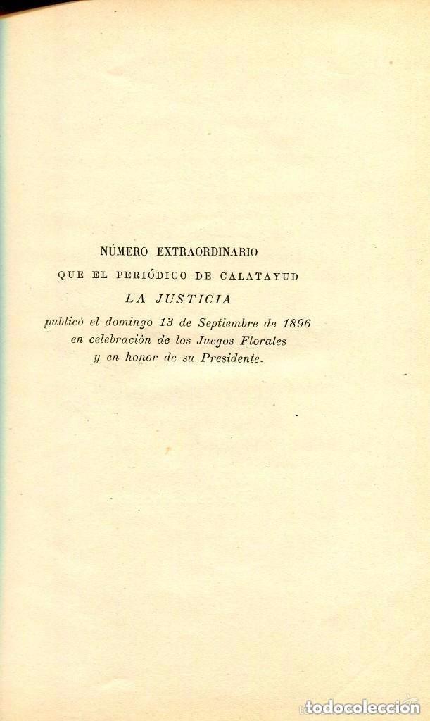 Libros antiguos: EL REGIONALISMO Y LOS JUEGOS FLORALES-1897-VICTOR BALAGUER-RARO - Foto 4 - 125894423