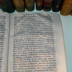 Libros antiguos: COMENTARIOS DE LA GUERRA DE ESPAÑA - DESDE EL PRINCIPIO DEL REYNADO DEL REY PHILIPPE QUINTO HASTA LA. Lote 125898543